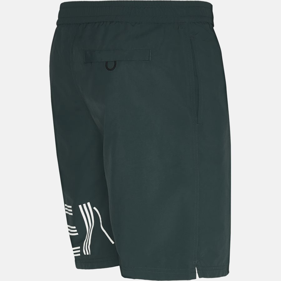 5BA208 - Shorts - Regular fit - BOTTLE GREEN - 3